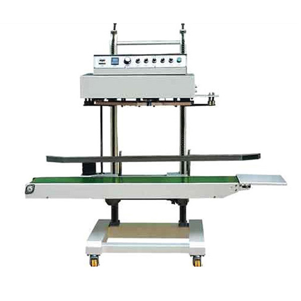 QLF-1680 Automatic Vertical Film Continuous Band Sealer Machine