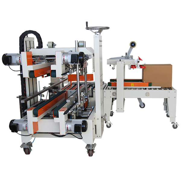 FXS-5050 Fully Automatic Carton Edges Sealer /Box Sealing Machine