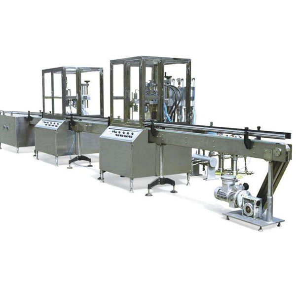 Fully Automatic Aerosol Filling Machine