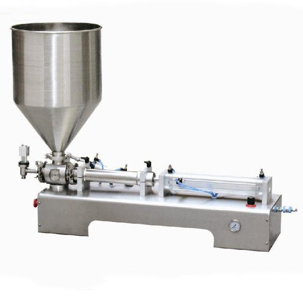 Semi-automatic Horizontal One Head Ointment Piston Pneumatic Filling Machine