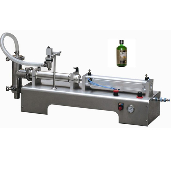 Semi-automatic One Head Piston Pneumatic Liquid Filling Machine
