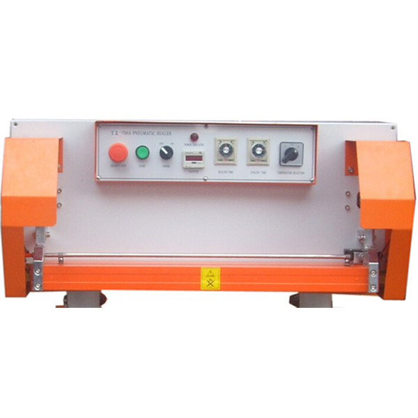 QLF 700A Pneumatic Plastic Bag Continuous Band Sealer Machine