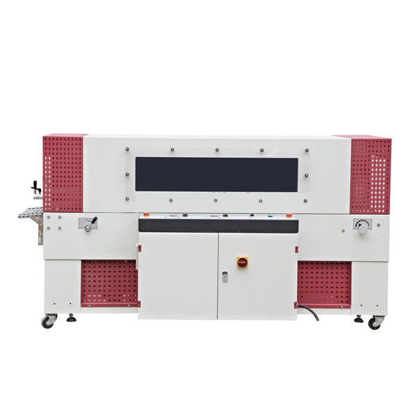 QL6025 Auto L Side Sealer and BSE6020T Shrink Tunnel Machine
