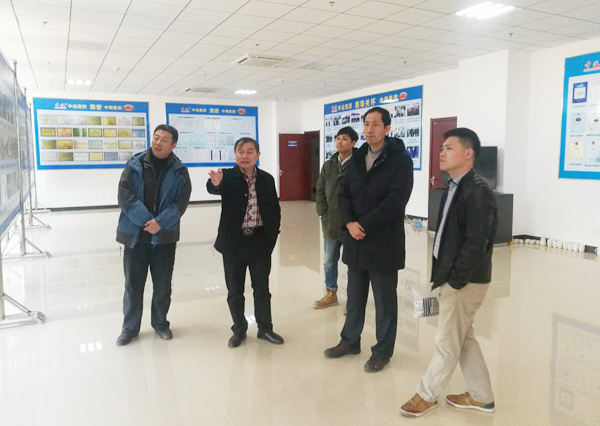 Warmly Welcome Yantai University Leaders To Visit Zhong Yun Intelligent Machinery (Yantai) Co., LTD