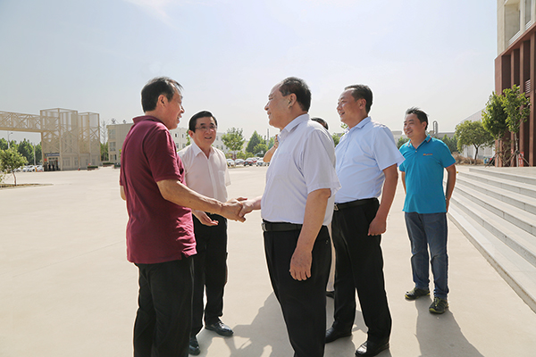 Warmly Welcome The Leaders Of Jining Confucian Culture And Enterprise Development Association To Visit China Coal Group