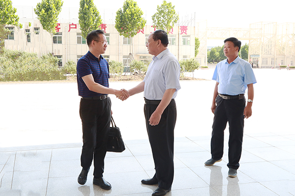Warmly Welcome The Leaders Of Jining City Retired Military Affairs Bureau To Visit China Coal Group