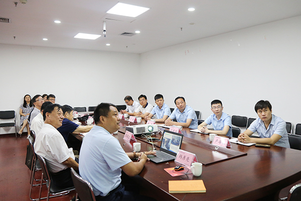 China Coal Group And The Science And Technology Association Leaders to Visit The Jining Intelligent Construction Technology Incubation Base For Investigation