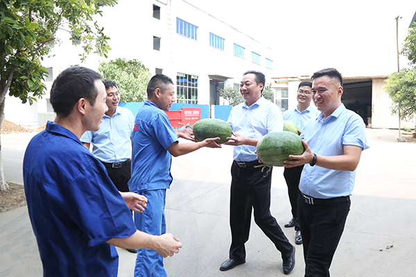 China Coal Group Leaders Express Their Care To The Frontline Employees In Production Workshop
