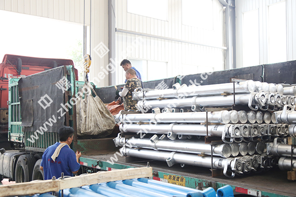 China Coal Group Sent To A Batch Of Single Hydrauilc Props To Xinzhou Shanxi
